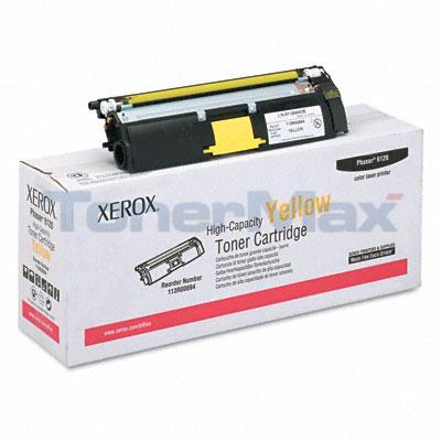 XEROX PHASER 6120 TONER CARTRIDGE YELLOW 4.5K